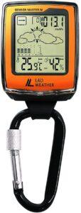 アウトドア 時計 高度計 気圧計 温度計 湿度計 デジタルコンパス アウトドア用品 ラドウェザー