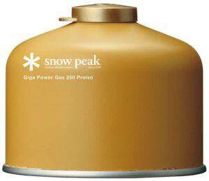 ギガパワーガス スノーピーク(snow peak)