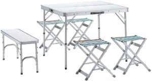 テーブルセット ベンチテーブルセット6 (メイプル) 73183004|ロゴス(LOGOS)