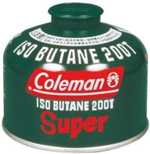 純正イソブタンガス燃料 Tタイプ コールマン(Coleman)