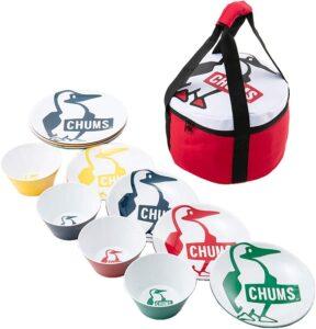 食器セット メラミンディッシュセット CH62-1268-Z051-00 Booby チャムス(CHUMS)