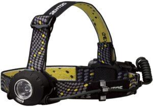 LED ヘッドライト ヘッドウォーズ 【明るさ200-500ルーメン/実用点灯5-11時間/後部認識灯】 ANSI規格準拠|ジェントス(GENTOS)