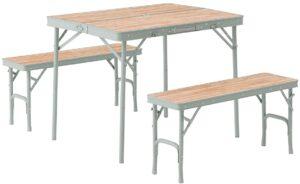 LOGOS Life ベンチテーブルセット4 73183013|ロゴス(LOGOS)