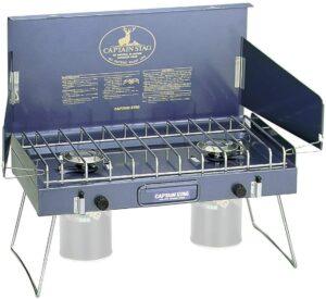 キャプテンスタッグ(CAPTAIN STAG) バーベキュー BBQ用 ステイジャーコンパクトガスバーナーコンロM-8249