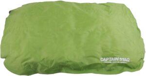 キャンプ用品 枕 防水 インフレータブル インフレーティングピロー グリーンUB-3017|キャプテンスタッグ(CAPTAIN STAG)