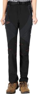 Amazon|TBMPOY トレッキングパンツ レディース アウトドア 登山パンツ 厚手 秋冬用 裏フリース ストレッチ 防寒 防風 撥水 全6色 M~2XL|アウトドア ロングパンツ 通販