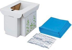 コジット救急用組み立て式トイレ