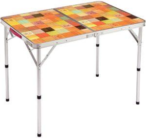 コールマンナチュラルモザイクリビングテーブル 90プラス