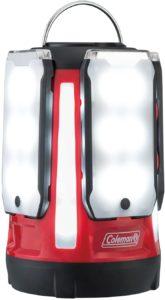 コールマン(Coleman) ランタン クアッドマルチパネルランタン LED 乾電池式 約800ルーメン レッド 2000031270 コールマン(Coleman)  スポーツ&アウトドア