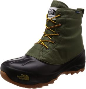[ザノースフェイス] ブーツ Snow Shot 6 Boot TX III メンズ カーキ×TNFブラック 27cm