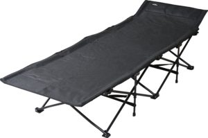 テントファクトリー キャンピングベッド スパイダーアクションベッド テスリンブラック TF-SB101S-MBK テントファクトリー(Tent Factory) 折りたたみ式ベッド