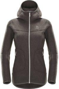 (ホグロフス)HAGLOFS PILE HOOD WOMEN 602772 3TJ SLATE XS:服&ファッション小物
