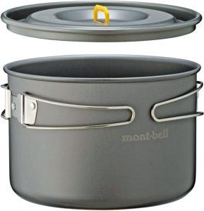 モンベル(mont-bell) クッカー アルパインクッカー20 1124555|モンベル(mont-bell)|コッヘル・クッカーセット