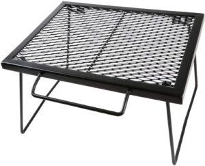 YOLER メッシュテーブル スチールテーブル
