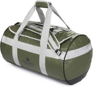 北欧ブランド「The Friendly Swede」ボストンバッグ ダッフルバッグ 耐水 スポーツバッグ 旅行バッグ 旅行カバン メンズ レディース ユニセックス ジムバッグ 3way 大容量 ドラムバッグ(グリーン 60L)|The Friedly Swede(ザ フレンドリー スウィード)|スポーツダッフルバッグ