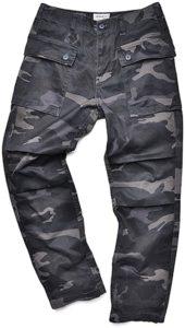 AVIREX アビレックス 6166113 AERO PANTS CAMOUFLAGE レギュラーフィット(S,198:GRAY CAMO):服&ファッション小物