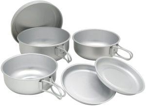 EPI(イーピーアイ) アルミ6点食器セット C-5307|イーピーアイ(EPI)|食器セット