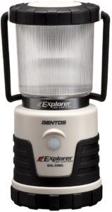 GENTOS(ジェントス) LED ランタン【明るさ380ルーメン:実用点灯14-150時間:3色切替:防滴】エクスプローラー SOL-036C