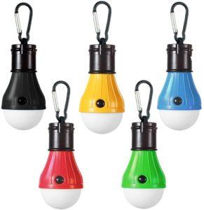 LEDランタン アウトドア用 吊り 3 LED 屋外 キャンプ テント ライト 電球 釣り ランタン ポータブル 懐中電灯 釣り提灯:ホーム&キッチン