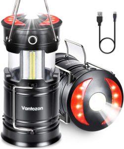 LEDランタン 高輝度 キャンプランタン usb充電式 電池式 2in1給電方法 フラッシュライト 折り畳み式 携帯型