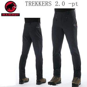 MAMMUT マムート アウトドア ウェア パンツ SOFTECH TREKKERS 2.0 PANTS メンズ BLACK 0001 トレッカーズ 1021-00410【C1】S(JAPAN-M):スポーツ&アウトドア