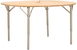 NEURAL OUTDOORバンブーラウンドテーブル