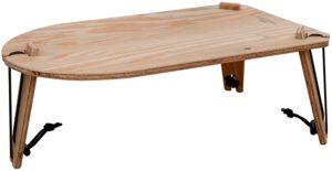TRIPOD TABLE SOLO バックパックに入れられる重さ500gのソロテーブル