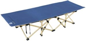 YOLER キャンプ 折りたたみベッド アウトドア 簡易ベッド 長185x幅65cm 野外 キャンプ泊 YR-6005(ネイビー) YOLER 折りたたみ式ベッド