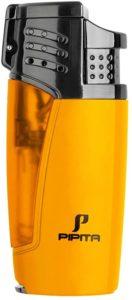 【高い品質】PIPITA 葉巻 ライター ガスライター 注入式 ジェット ガス シガーライター 防風 充填式 直噴ターボライター トーチ・火起こし(ガスなし)|PIPITA|着火用ガスライター