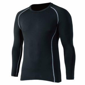 コンプレッションパワーストレッチ クルーネックシャツ|おたふく手袋(OTAFUKU GLOVE)