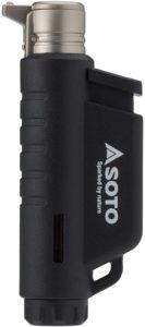 ソト(SOTO) マイクロトーチ COMPACT(コンパクト) ブラック ST-485BK|ソト(SOTO)|トーチ・火起こし