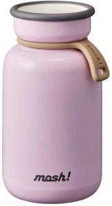 ドウシシャ(DOSHISHA) mosh!(モッシュ) ボトル ラッテ 真空断熱 マグボトル ピンク 330ml DMLB330PE|水筒・マグボトル オンライン通販