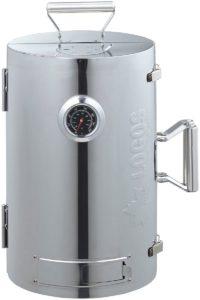 ロゴス(LOGOS) スモーカー LOGOSの森林 スモークタワー 燻煙器 円筒型 180度開閉タイプ 熱源不要|ロゴス(LOGOS)|スモーカー