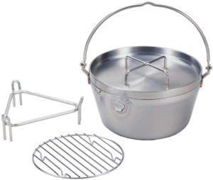 下村企販 オール熱源対応 ステンレス ダッチオーブン 26cm 21980:ホーム&キッチン