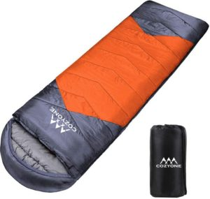 Cozyone 寝袋 シュラフ 封筒型 軽量 保温 210T防水 コンパクト アウトドア キャンプ 登山 車中泊 防災用 丸洗い可能 快適温度-5度-25度 950g 1.4kg 1.8kg 春用 夏用 秋用 冬用|Cozyone|寝袋・シュラフ