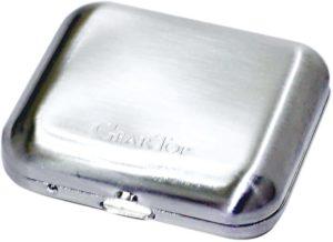 GEAR TOP GT-100DS 携帯灰皿 ダイヤSサテーナ ダイアノシルバー 約22×59×55mm