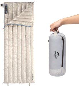 ダウン寝袋 封筒型|Naturehike(ネイチャーハイク)