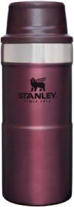 STANLEY(スタンレー) クラシック真空ワンハンドマグII 0.35L ワインレッド 保冷 保温 頑丈 ワンタッチ式 マグ コーヒー クリスマス ホリデー 06440-083 (日本正規品):スポーツ&アウトドア