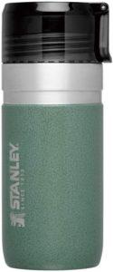 STANLEY(スタンレー) 新ロゴ ゴーシリーズ 真空ボトル 0.47L グリーン 保温 保冷 直飲み 水筒 おうちカフェ アウトドア 保証 09541-002 (日本正規品)|STANLEY(スタンレー)|マグ・シェラカップ