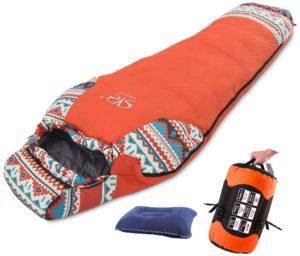 寝袋マミー型|Sheng yuan