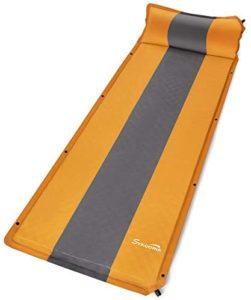 Sykooria エアーマット 自動膨張式 キャンプマット 厚さ3cm/5cm 高反発フォーム構造 硬さ調節でき アウトドアマット 複数連結可能 190Tポリエステル生地