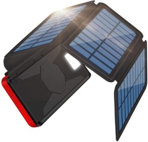 ソーラーチャージャーモバイルバッテリー|Becharming