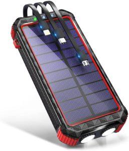 ソーラーモバイルバッテリー|DeliToo