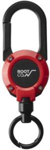 【ROOT CO.】マグネット内蔵カラビナリール GRAVITY MAGREEL 360 (レッド/グロス) | 家電&カメラ オンライン通販