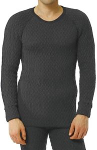 ひだまり本舗 [紳士用]長袖丸首シャツ ひだまり エベレスト[3重袖シリーズ] | インナーシャツ 通販