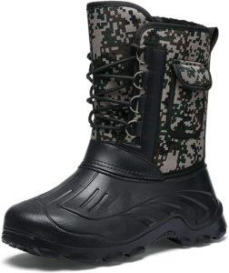 [イグル] スノーブーツ メンズ ブーツ 防水 防寒ブーツ レインブーツ 防水 防寒 防滑 ロングブーツ トレッキング メンズブーツ スノーシューズ 雪山 アウトドア 靴 メンズシューズ 冬用 裏起毛 保温 迷彩柄 ウィンターブーツ 釣り | イグル | クライミング