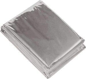カサカサ音が少ない 静音 サバイバル アルミ ブランケット 130×210cm 6813 : ホーム&キッチン