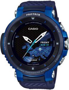 [カシオ] 腕時計 スマートアウトドアウォッチ プロトレックスマート GPS搭載 WSD-F30-BU メンズ ブルー: 腕時計