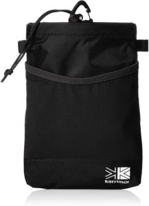[カリマー] 小物 trek carry hip belt pouch Black(ブラック) | Karrimor(カリマー) | 登山用ポーチ