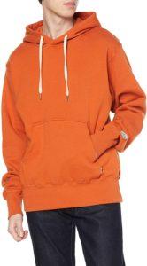 [クリフメイヤー] 裏起毛 パーカー (フードロゴ) メンズ SMALL オレンジ | トレーナー・パーカー 通販